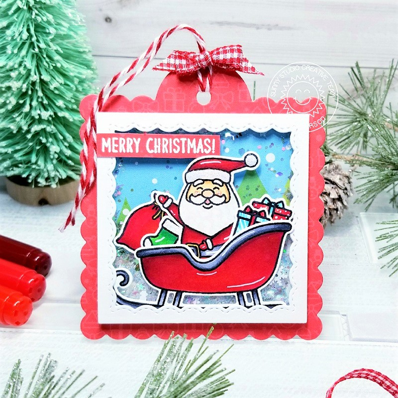 Ana A - 25 Days of Christmas Tags 2019