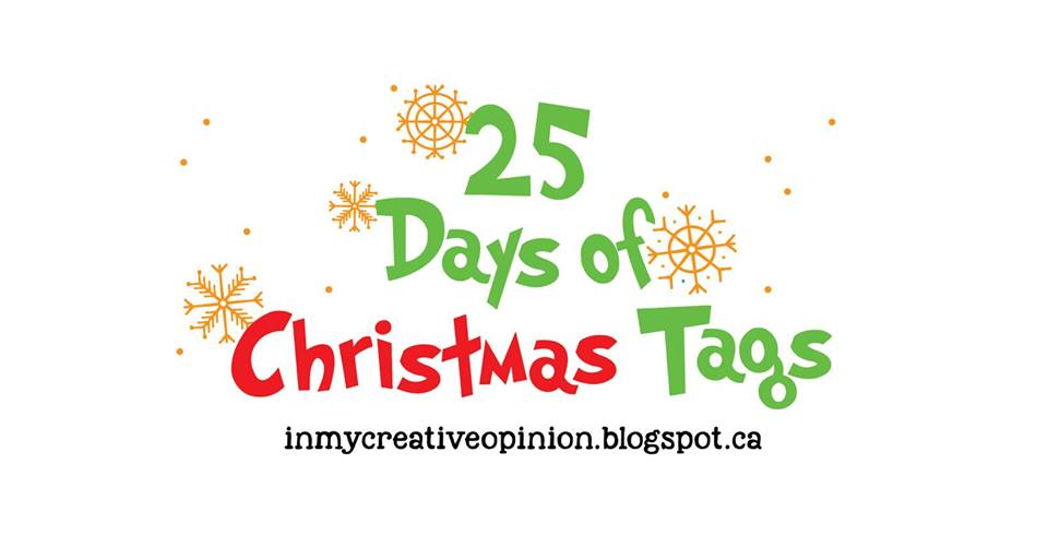 25 Days of Christmas Tags 2019